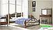 Металлическая кровать Франческа на деревянных ножках ТМ «Металл-Дизайн», фото 9