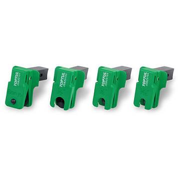 Замикаючий пристрій гальмівних і паливних трубопроводів 4ед. TOPTUL JGAR0401
