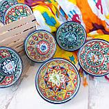 Узбекская пиала ручной работы d 11 см. Керамика, фото 2