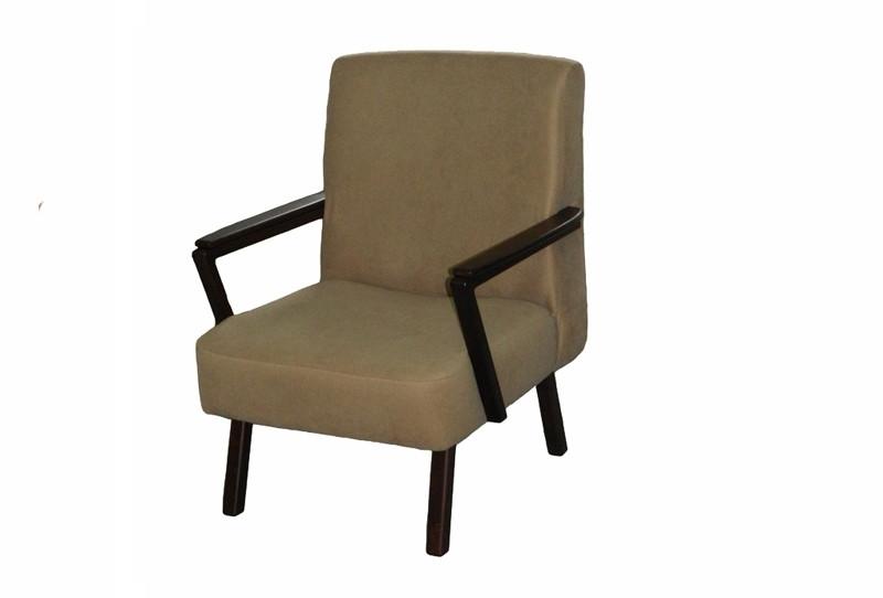 Крісло в вітальню з натурального дерева Торанс Скіф