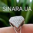 Бриллиант шарм Пандора серебро 925 - Бусина Пандора Бриллиантик, фото 4