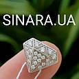 Бриллиант шарм Пандора серебро 925 - Бусина Пандора Бриллиантик, фото 3
