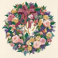 Набор для вышивки крестом Dimensions 3837 «Венок из роз»