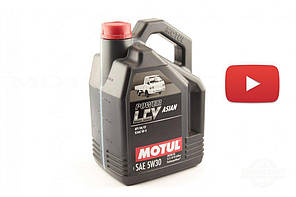 Масло   автомобильное, 5л   (синтетика, 5W-30, POWER LCV ASIAN)   MOTUL   (#106489), шт