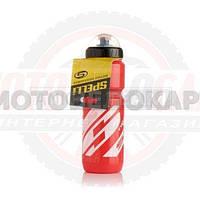 """Бутылка для воды велосипедная  (#SWB-528, красная, 800ml)  """"SPELLI"""""""