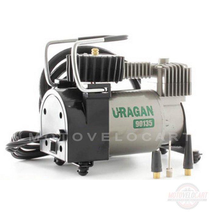 Компрессор URAGAN / 90135 / 37 л\мин / с автостопом mod:90135
