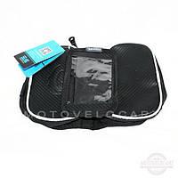 "Велосипедна сумка на раму (для інструменту і смартфона 5.5"" , водонепроникна, чорна,ROSWHEEL) (#MD),"