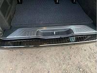 Порог заднего бампера Mercedes Vito W447 2014- (нерж.) Omsa