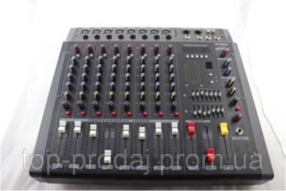 Аудио микшер Mixer BT 808D  c bluetooth, Микшерный пульт, Стерео микшер, Диджейский музыкальный микшер