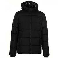 Зимняя куртка Lee Cooper Two Zip Padded Jacket Black - Оригинал