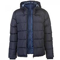 Зимняя куртка Lee Cooper Two Zip Padded Jacket Navy - Оригинал