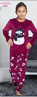 Пижама для девочки велюровая, фото 1