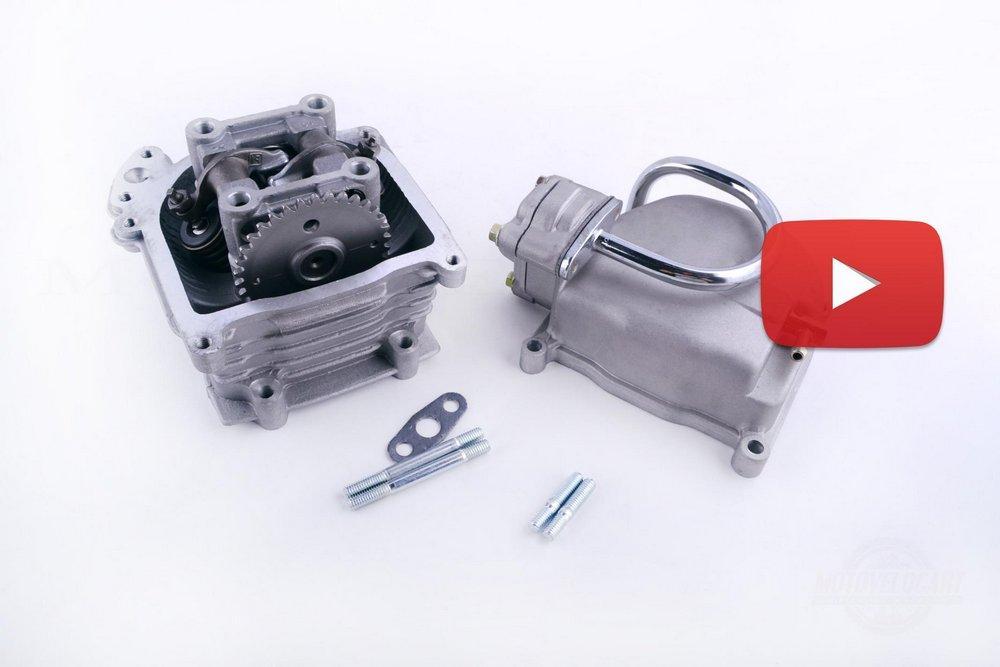 Головка цилиндра   4T GY6 80   (?47)   (в сборе, +крышка, патрубок сапуна)   SEE   (#SL), компл.