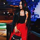Красные цветные пряди на заколках как у Валерии Лукьяновой, фото 4
