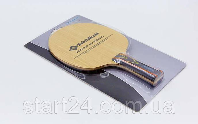 Основание ракетки для настольного тенниса DONIC (1шт) MT-762216 (многослойная древесина), фото 2