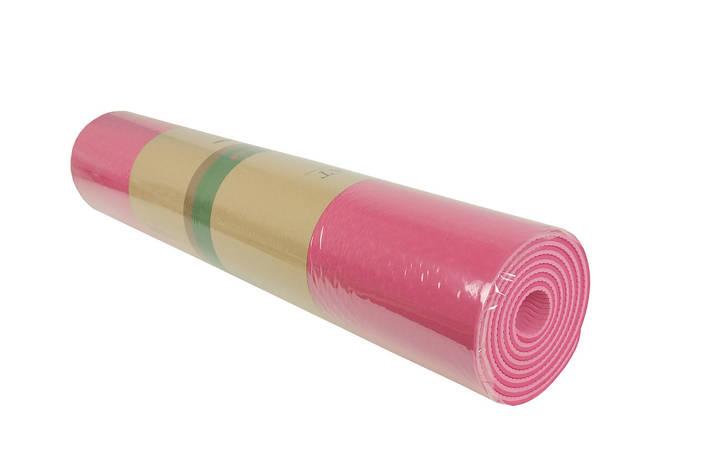 Йогамат MS0613P (Розовый), фото 2