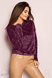 Мягкий джемпер фиолетового цвета, фото 2