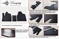 Резиновые коврики (3 шт, Stingray) - Fiat Scudo 1996-2007 гг.