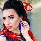 ❤️ Цветные красные пряди волос на заколке как у Настасьи Самбурской с Универа ❤️, фото 4