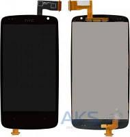 Дисплей (экраны) для телефона HTC Desire 500 Dual Sim, Desire 506e + Touchscreen Black