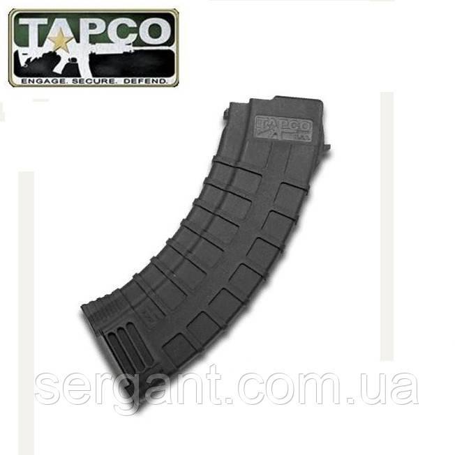Магазин 7,62х39 на 30 патронов полимерный Tapco (США) РИФЛЁНЫЙ для АК