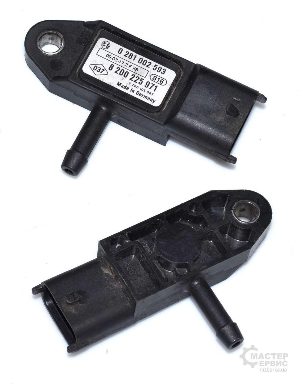 Мапсенсор для Renault Trafic 2000-2014 0281002593, 223657266R, 8200225971