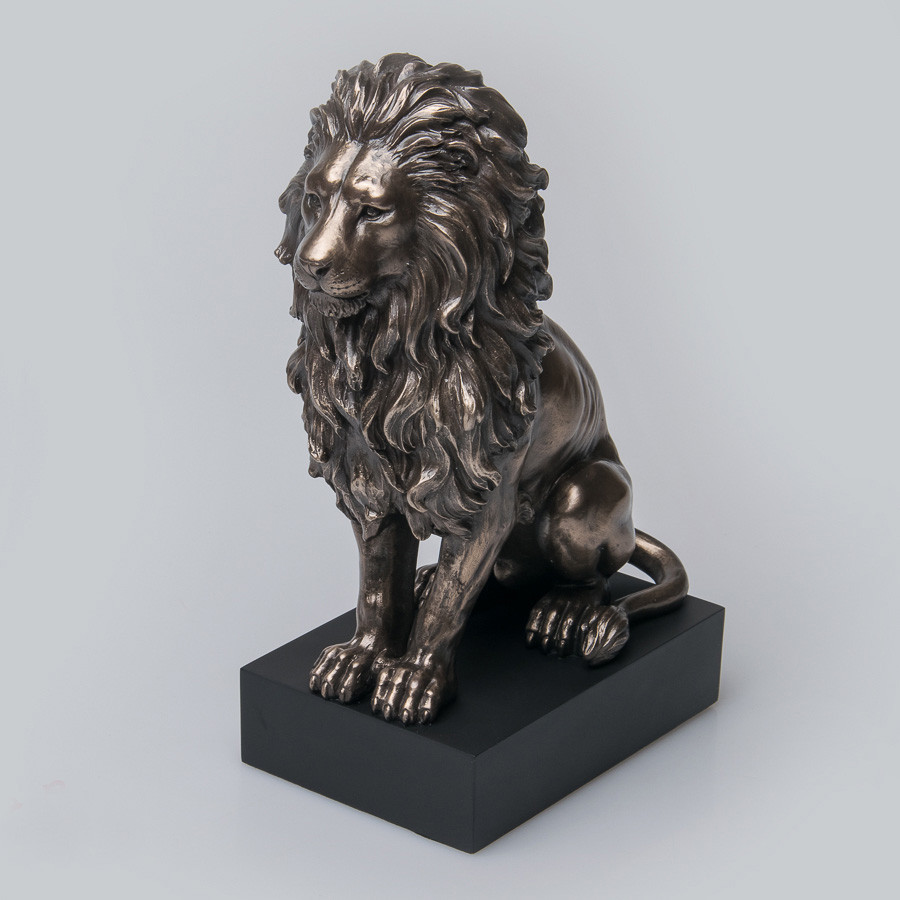 Статуетка Лев Veronese Італія 22 см (V-76813A4)