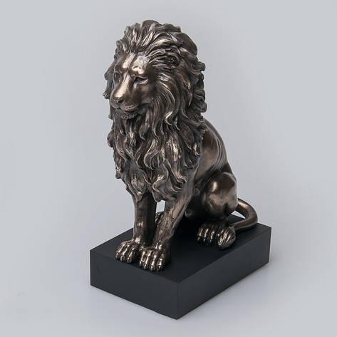 Статуетка Лев Veronese Італія 22 см (V-76813A4), фото 2