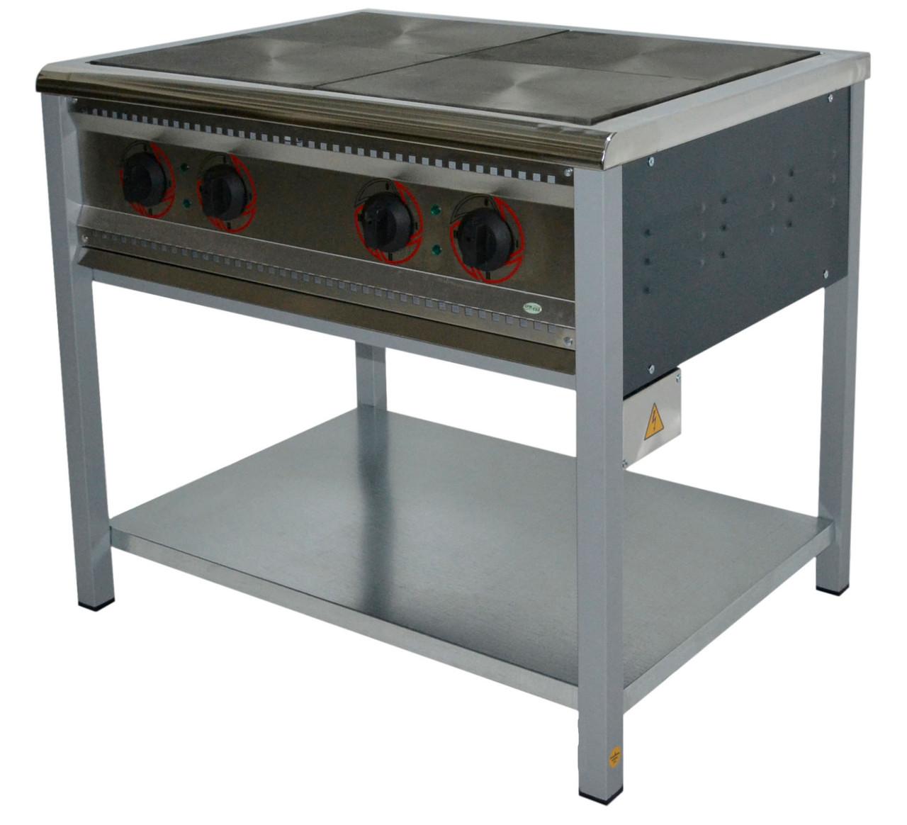 Плита электрическая 4 конфорочная ПЕ-4 промышленная