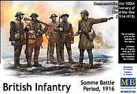 1:35 Британская пехота, 1916 г., Master Box 35146;[UA]:1:35 Британская пехота, 1916 г., Master Box 35146