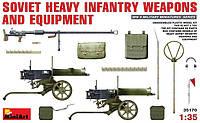 1:35 Тяжелое вооружение и снаряжение советской пехоты, MiniArt 35170
