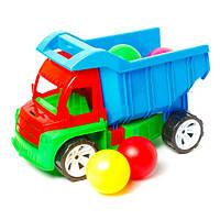Машина  quot;Алекс quot; + шарики большие 8шт 086 Бамсик