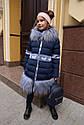 Пальто зимнее на девочку Лин ТМ Nui Very Размеры 116 - 158, фото 5
