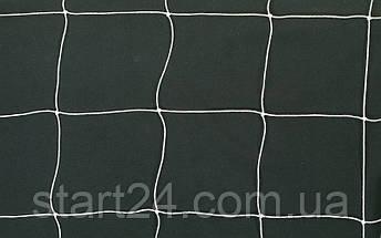 Сетка на ворота футбольные любительская узловая (2шт) C-3346 (PP 1,5мм, ячейка 14x14см, PVC чехол), фото 2