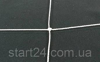 Сетка на ворота футбольные любительская узловая (2шт) C-3346 (PP 1,5мм, ячейка 14x14см, PVC чехол), фото 3