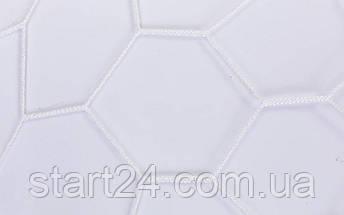 Сетка на ворота футбольные тренировочная безузловая (2шт) С-6003 (PL 2,5мм, яч. 7,5см, PVC чехол), фото 3