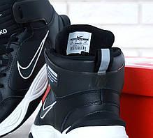 Мужские кроссовки Nike M2K Tekno Winter Black. ТОП Реплика ААА класса., фото 3