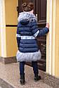 Пальто зимнее на девочку Лин ТМ Nui Very Размеры 116 - 158, фото 2