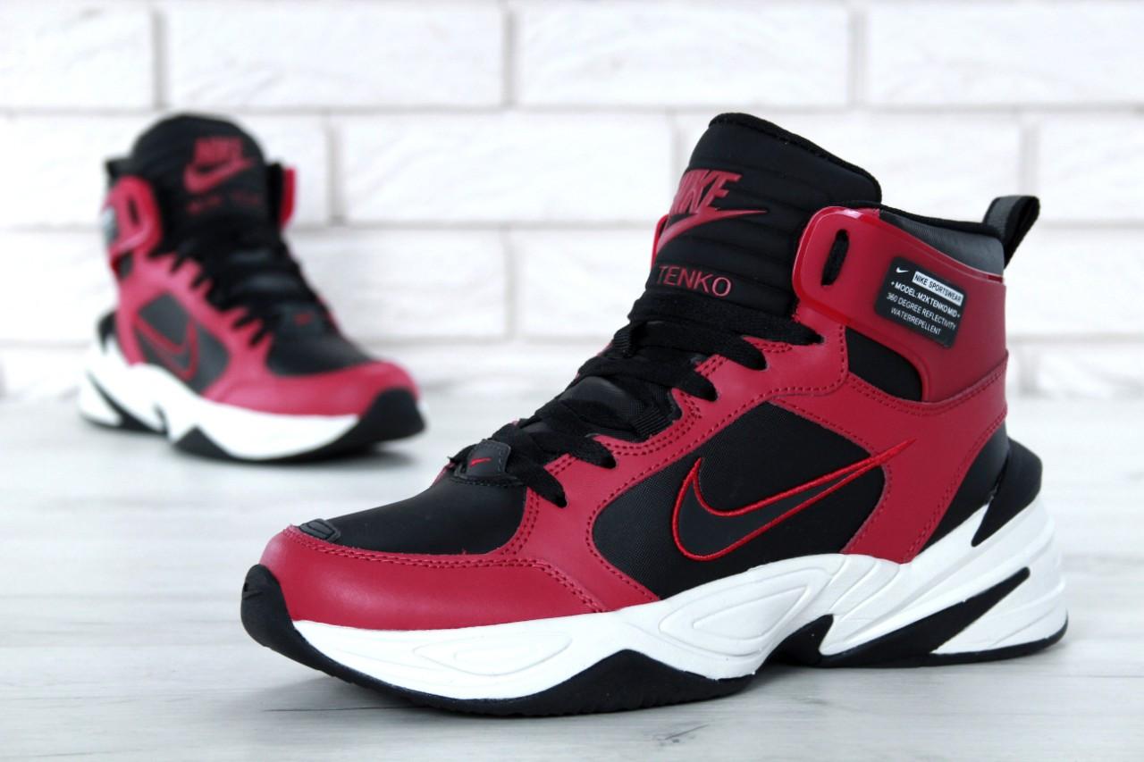 Мужские кроссовки Nike M2K Tekno Winter Rad. ТОП Реплика ААА класса.
