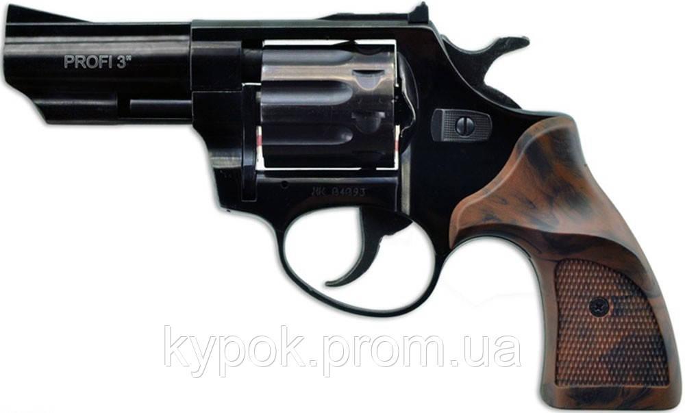 """Револьвер флобера PROFI-3"""" (чёрный / Pocket)"""