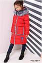 Пальто детское Рейни ТМ Nui Very Размеры 116- 158 Темно голубой, фото 5