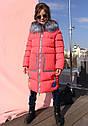 Пальто детское Рейни ТМ Nui Very Размеры 116- 158 Темно голубой, фото 7