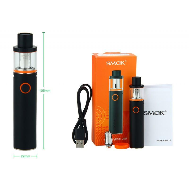 Стартовый набор Vape PEN22  электронная сигарета (Black, Silver)