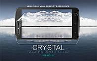 Защитная пленка Nillkin Crystal для Motorola Moto C