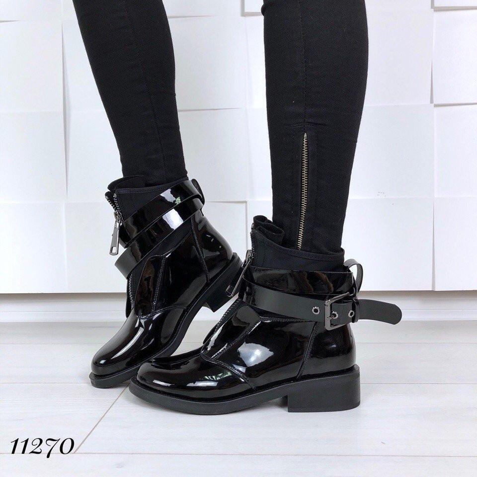 Ботиночки =Indigo=, цвет: ЧЕРНЫЙ (11270)
