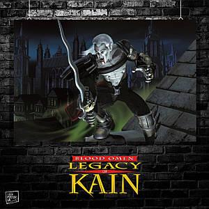 Постер Наследие Каина, Legacy of Kain, Blood Omen, Soul Reaver, вампир. Размер 60x40см (A2). Глянцевая бумага