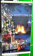 Настінний обігрівач плівковий Стандарт Новорічна Ялинка 100 х 57 см 400W, фото 1