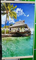 Настенный обогреватель пленочный Стандарт Гаваи Бунгало 100х57 см 400W, фото 1
