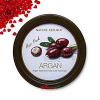 NATURE REPUBLIC Маска для волос с маслом Арганы Nature Republic Argan Essential Deep Care Hair Pack