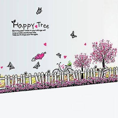 LAIMA Декоративный настенный стикер наклейка вишня украшение для дома - Цветной, фото 2